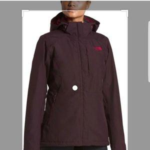 North Face Inlux 2.0 Fig Herringbone Snow Jacket